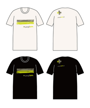 "<b style=""background-color:yellow;"">Simplism</b>新作Tシャツ完成"